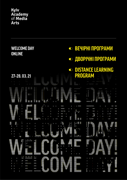 WELCOME DAY ONLINE