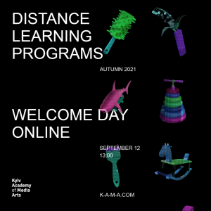 """[""""WELCOME DAY online: Distance Learning Programs""""]"""